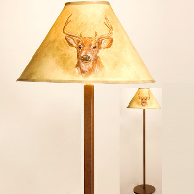 Deer Shade Floor Lamp