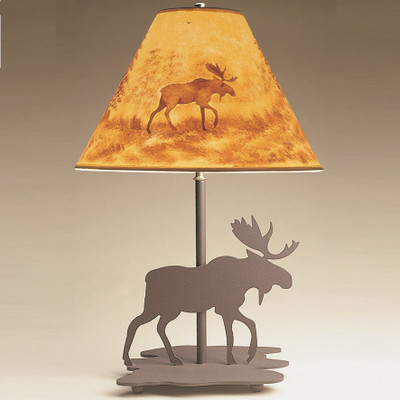 Moose Profile Table Lamp