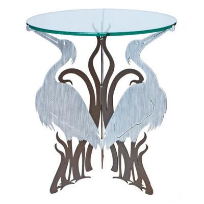 Heron Glass Top Table