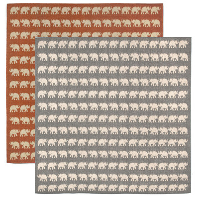 Elephant Indoor Outdoor Area Rug Square