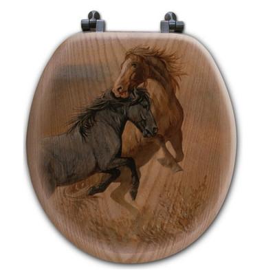 "Horse Toilet Seat ""Challenge"""