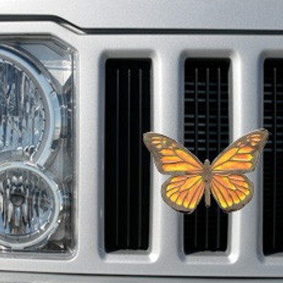 Butterfly Grille Ornament