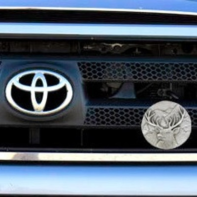 Deer Grille Ornament
