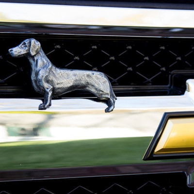 Dachshund Grille Ornament
