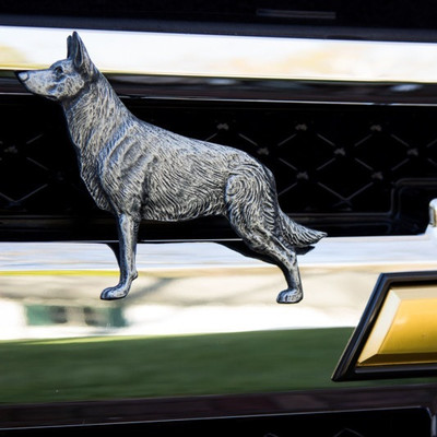 German Shepherd Grille Ornament
