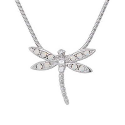 Dragonfly Pendant Necklace Take Flight | Nature Jewelry
