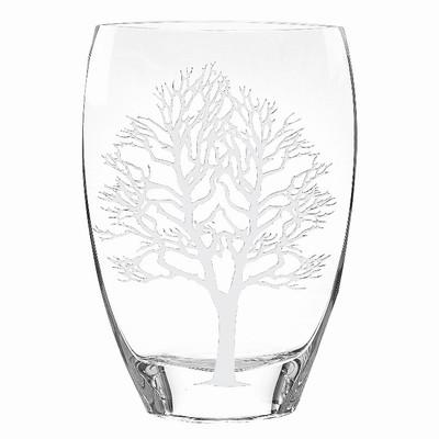 Tree of Life Glass Vase