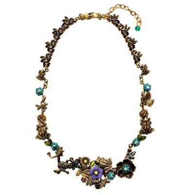 Frogs Chunky Necklace | Nature Jewelry