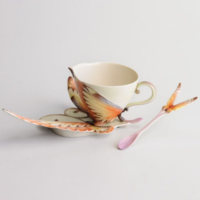 Fantasy Butterfly Cup Saucer | xp1907