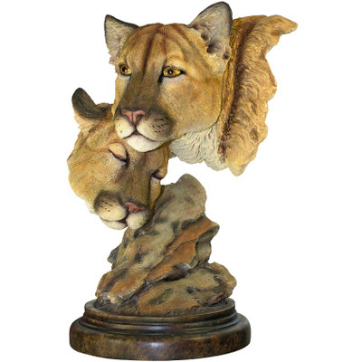 "Cougar Sculpture ""Spellbound"""