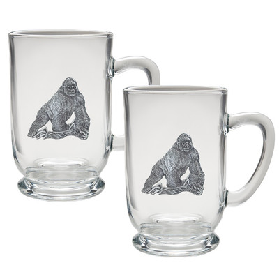 Gorilla Coffee Mug Set of 2