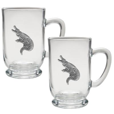 Alligator Coffee Mug Set of 2