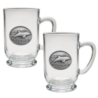 Dolphin Coffee Mug Set of 2