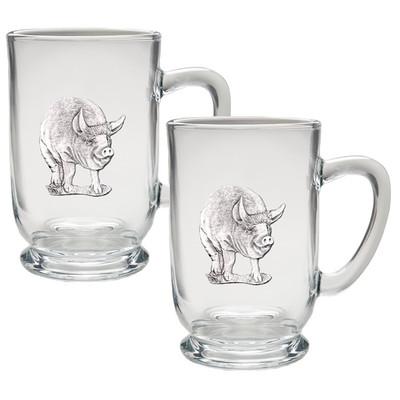 Pig Coffee Mug Set of 2
