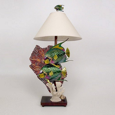 Angelfish Lamp