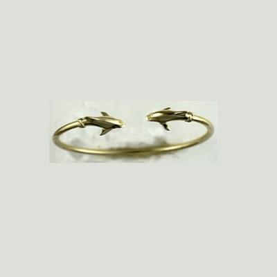 Dolphin 14K Gold Bracelet | Nature Jewelry