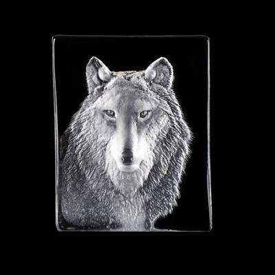 Wolf Crystal Sculpture | 34124