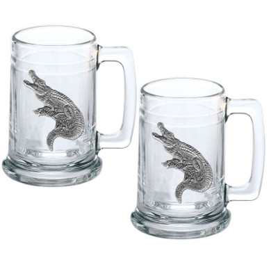 Alligator Stein Set of 2