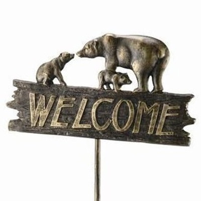 Bear Family Welcome Sign | 33390