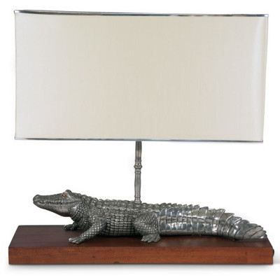 Alligator Lamp