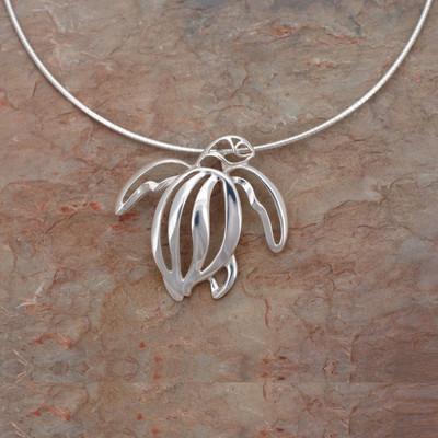 Sea Turtle Pendant Necklace | Roland St. John Jewelry