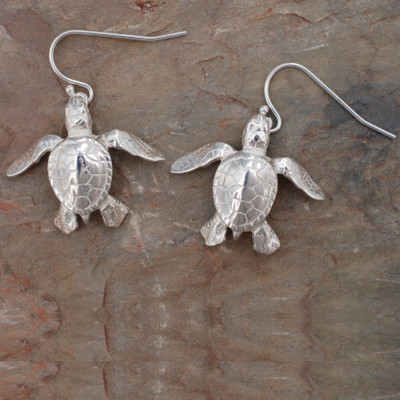 Sea Turtle Earrings | Roland St. John Jewelry