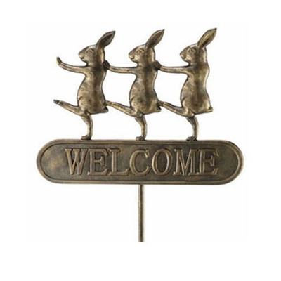 Parading Bunnies Welcome Sign | 33391