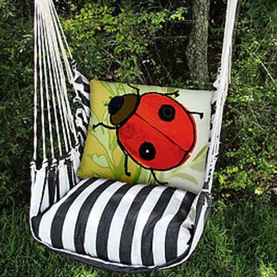 Ladybug Hammock Chair Swing