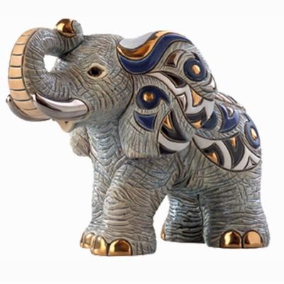 African Elephant Figurine   Rinconada
