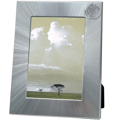 Aspen Leaf 5x7 Photo Frame