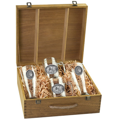 Lion Beer Glass Boxed Set
