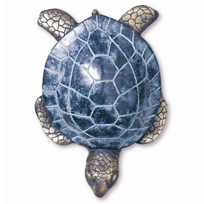 Sea Turtle Brass Door Knocker | 30553