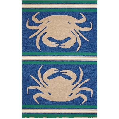 "Crab Indoor Outdoor Area Rug ""Crab Shack"""