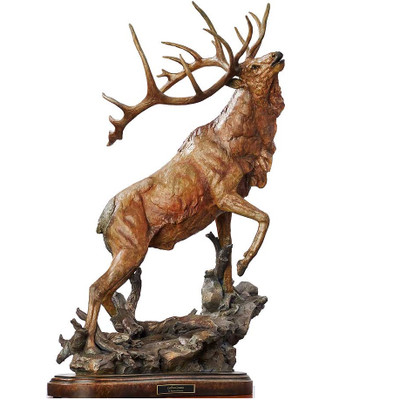 "Elk Sculpture ""Call to Contest"""