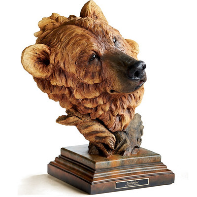 "Brown Bear Sculpture ""Timberline"""
