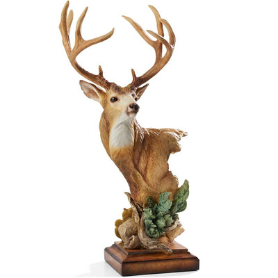 "Mule Deer Sculpture ""High Chaparral"""