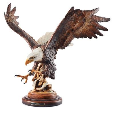 """Eagle Sculpture """"Liberty"""""""