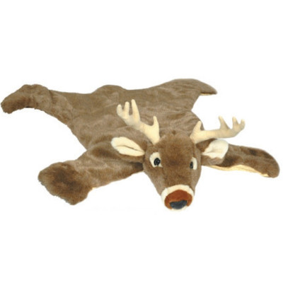 White Tail Deer Large Plush Rug