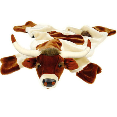 Longhorn Large Plush Rug