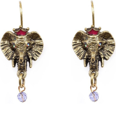 Elephant Head Earrings  | Nature Jewelry