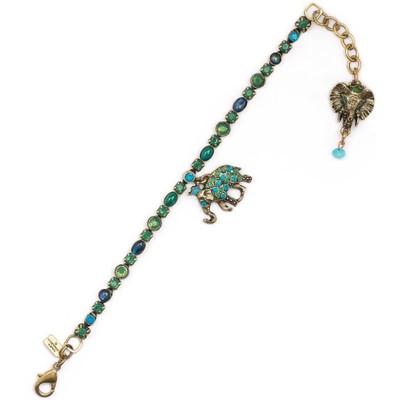 Elephant Charm Bracelet  | Nature Jewelry