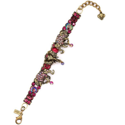 Elephant Double Strand Bracelet | Nature Jewelry