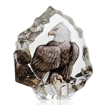 Eagle Crystal Miniature Sculpture | 88172