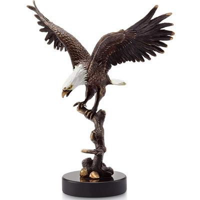 Eagle on Branch Sculpture | 31619
