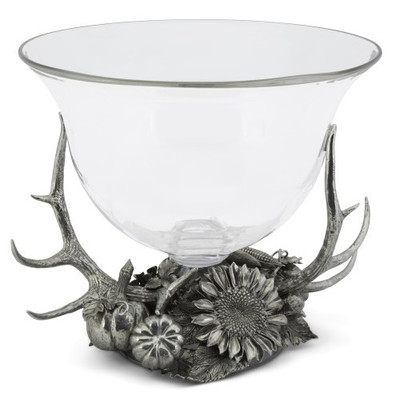 Antler Harvest Glass Ice Tub