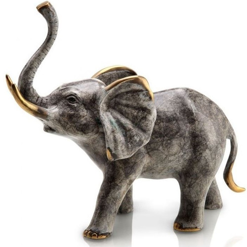 Bellowing Elephant Sculpture | 80246