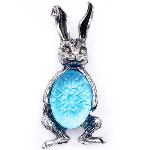Bunny Stud Pin | Nature Jewelry