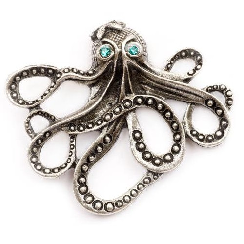Octopus Stud Pin | Nature Jewelry