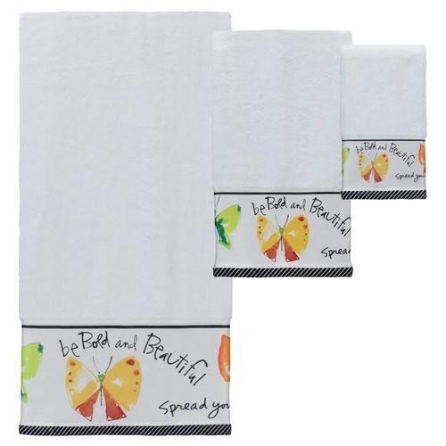"""Butterfly Towel Set """"Flutterby"""""""