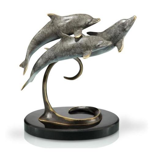 Dolphin Triple Sculpture | 80227